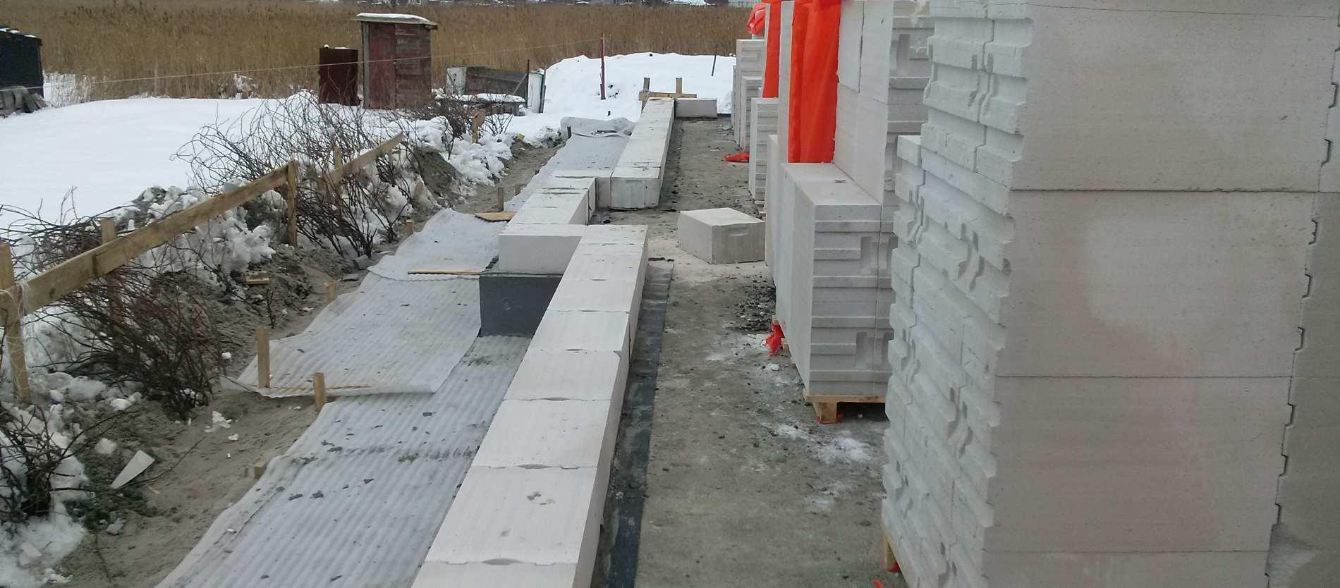 строительство утепленной шведской плиты