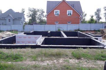 Ленточный фундамент под ключ калькулятор московская Щелковский район