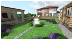 схема планировки загородного участка